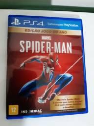 Jogo Ps4 - Spider-Man * Leia o anúncio *
