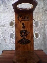 Lindo suporte rustico coar cafe