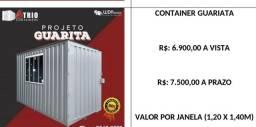 Átrio Container ou Reefers refrigerado