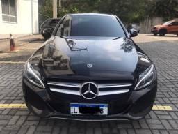 Título do anúncio: Mercedes C180 2018 com 17mil Km