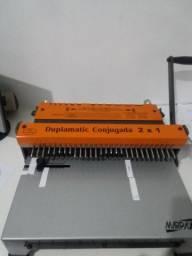 Encadernadora 2x1 wire o Marpax semi nova