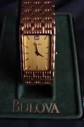 Relógio Bulova Feminino Quartz  Resistente à água Modelo 97D05