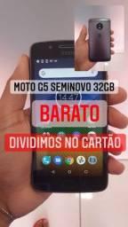 Vendo moto G5 32 gb