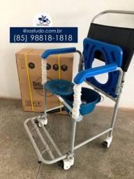 Título do anúncio: cadeira de banho d50 dellamed *