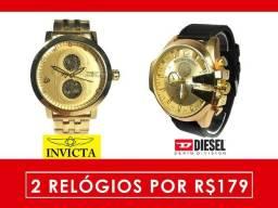 Relógios Masculinos, Compre 1 e leve 2