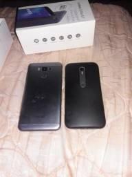 Vendo dois celular semi novo