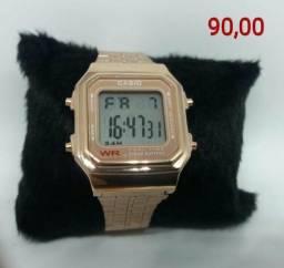 Relógio Casio Retrô Unissex Primeira linha