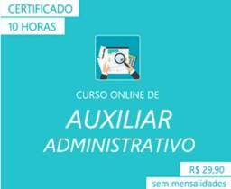 Curso Auxiliar Administrativo - Online - Com Certificado