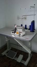 Maquina de costura industrial interloque