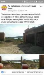 Terreno bairro matadouro