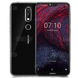 Nokia X6 Pt-br - 4gb/64gb- Preto - Capa - Pronta Entrega