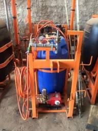 Pulverizador de 240 litros 4 em 1