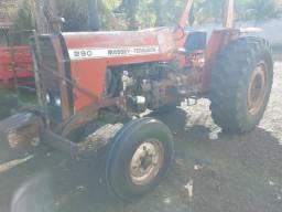 Trator Massey 290 comprar usado  Clementina