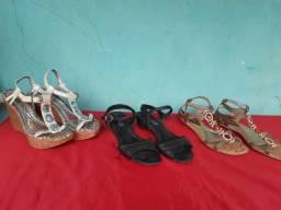 Vendo sapatos diversos