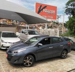 Toyota Yaris 2019 1.5 Sedan XLS Automatico Teto Unico Dono Garantia - 2019
