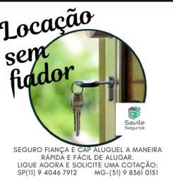 Locação residencial ou comercial SEM FIADOR
