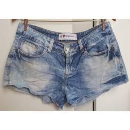 Sbort jeans curto