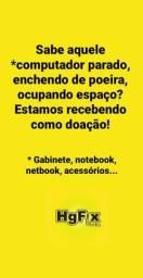 Gabinetes e notebooks