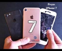 IPhone 7 Peças - Tela Original Seminova - Carcaça - Camera - Bateria -
