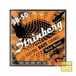 Encordoamento Baixo 5 Cordas Strinberg SB50 .040-.125