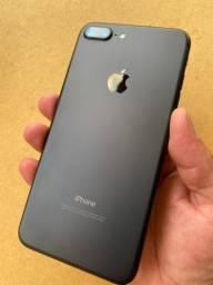 LEIA O ANÚNCIO!! IPHONE 7 PLUS 32GB BLACK, PEGO SEU IPHONE NA TROCA