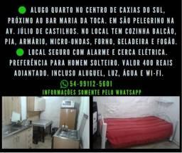 Alugo quarto no centro de Caxias do Sul