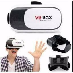 Óculos de realidade virtual c/ controle