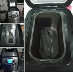 Máquina portátil para fazer pão e várias outras coisas