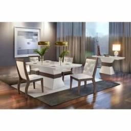 Título do anúncio: Mesa de jantar ágata com 4 cadeiras ágata F626