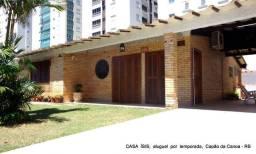 Título do anúncio: Casa ÍSIS 4D 3B Piscina 5Ar-C, 3qds beira-mar aluguel Temporada Capão da Canoa