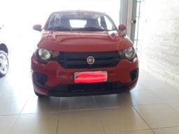 Fiat mobi 2018/2018 vermelho