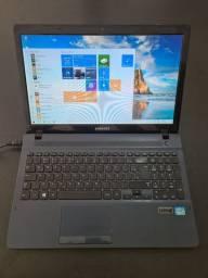 Notebook Samsung i5 placa de vídeo 2 gb dedicado Geforce GT 710m