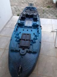 Caiaque Hunter285+motor mercury 3.3hp Troco por Caiaque pedal