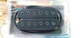 Guitarra Captador Dimarzio Paf Pro Dp151 Std Spaced Black Made In Usa