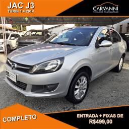 JAC J3 Turin Sedan 1.4 2014 Completo