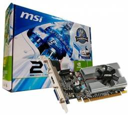 Placa de vídeo MSI Geforce 210