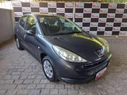 Peugeot 207 HB XR 1.4 Cinza 2010/2011