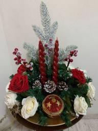 Lindos arranjos natalinos