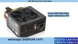 Fontes real 500 wats (Temos Nominal R$60)