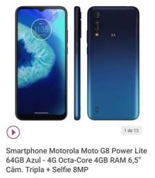 Moto G8 Power Lite 64GB Azul
