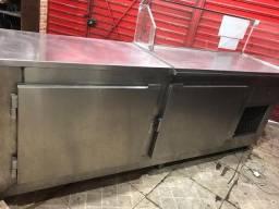 Balcão / Bancada frigorífico inox - Aceito Cartão