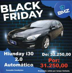 Hyundai i30 2.0 Automático - Oferta Black Friday BMZ