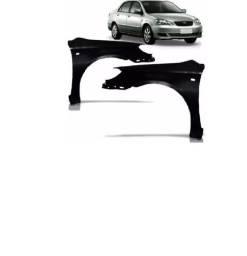 Par Paralama Toyota Corolla 2003 2004 2005 2006 2007 2008 Com Furo
