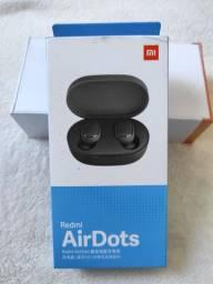 Lançamento!!! Redmi Air Dots Xiaomi. Novo Lacrado com Garantia e Entrega