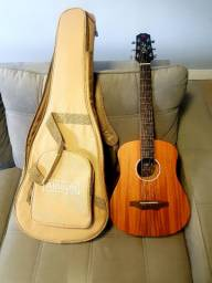 Vendo violão mini Baby seizi novo maciço