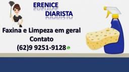 Diarista-Faxineira- Limpeza residencial e comercial