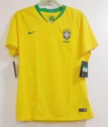 Camisa Seleção Brasileira Nike Feminina