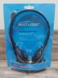 Headset Fone de ouvido