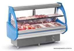 *Ricardo Expositor de Açougue Top Vidro Curvo Simples EAT 2000 VCS Refrimate