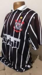 Título do anúncio: Camisa corinthians 1995 viola G